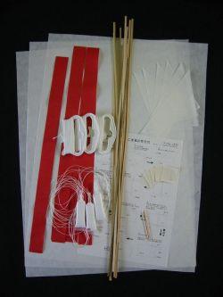 こま凧キット 三組 材料