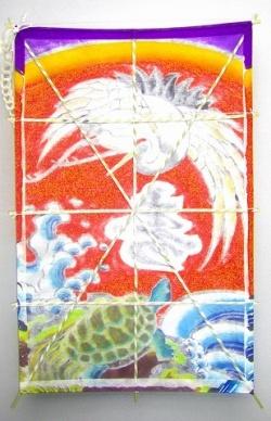 鶴亀「寿」還暦祝い 裏