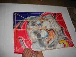 角凧製作工程11