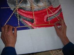 角凧製作工程7